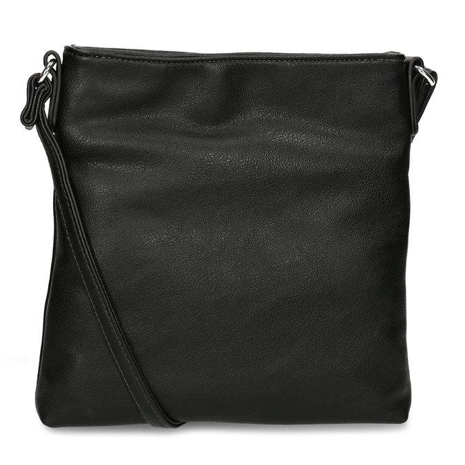Čtvercová crossbody černá kabelka gabor, černá, 961-6803 - 16