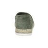 Dámské khaki espadrilky z broušené kůže bata, khaki, 533-3606 - 15