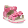 Růžové dětské sandály s mašličkou bubblegummers, růžová, 161-5613 - 13