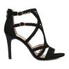 Černé dámské sandály na jehlovém podpatku bata, černá, 769-6606 - 19