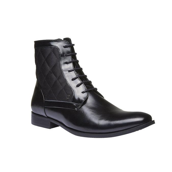 Kožená kotníčková obuv conhpol, 2019-894-6104 - 13