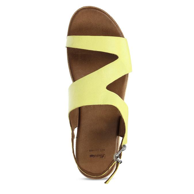 6648604 bata, žlutá, 664-8604 - 17