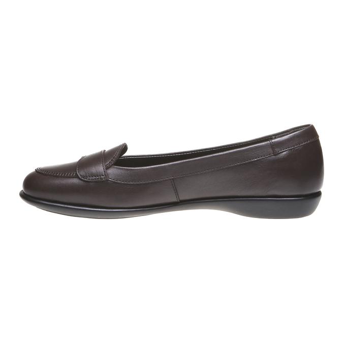 Roxy - nízká obuv bata, hnědá, 2018-514-4123 - 15