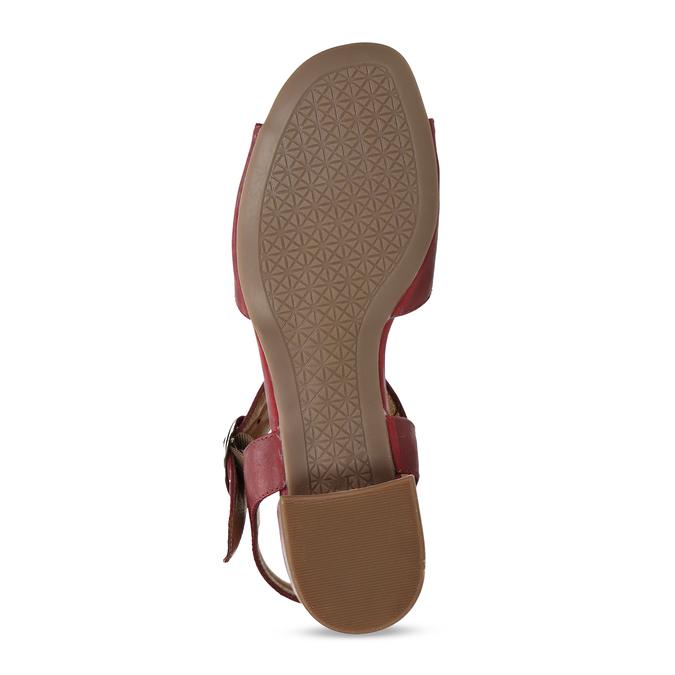 6645601 bata, červená, 664-5601 - 18