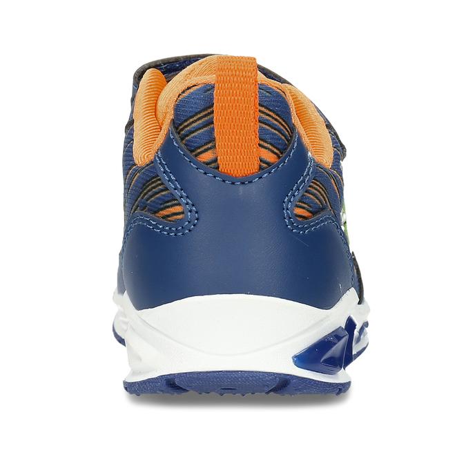 Modré chlapecké svítící tenisky mini-b, modrá, 211-9622 - 15