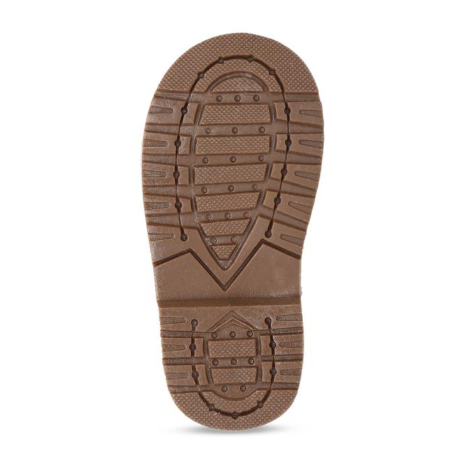 Kotníková dětská obuv s puntíky bubblegummers, šedá, 124-2725 - 18