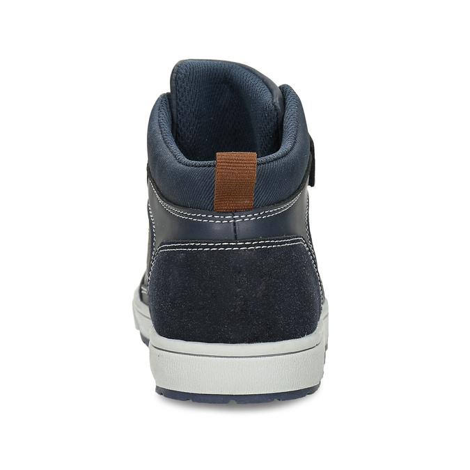 Dětská kotníková obuv černá mini-b, modrá, 311-9601 - 15