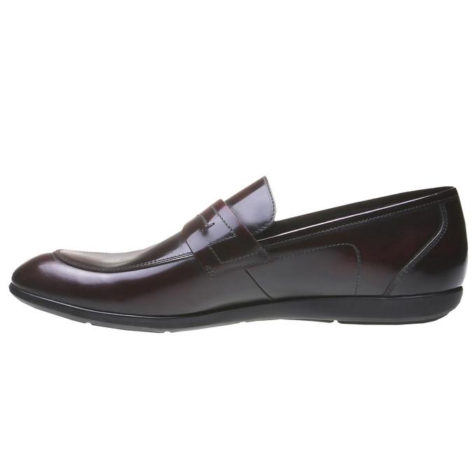 Neville - kožené mokasíny bata, 2018-814-5347 - 15