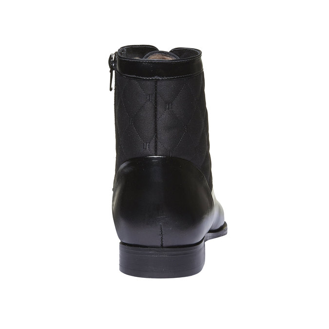 Kožená kotníčková obuv conhpol, 2019-894-6104 - 17