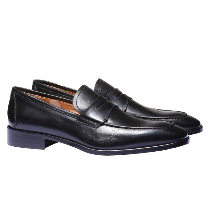 Kožená obuv ve stylu Loafer, 2018-814-6112 - 26