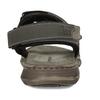 Šedé pánské kožené sandály ve sportovním střihu weinbrenner, šedá, 866-4604 - 15
