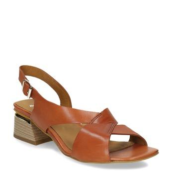 6643602 bata, oranžová, 664-3602 - 13
