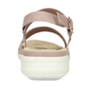 Dámské růžové sandály s perforací comfit, růžová, 561-5603 - 15