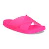 Růžové pantofle se dvěma pásky pata-pata, růžová, 572-5617 - 13