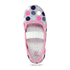 Dívčí přezůvky s puntíky mini-b, vícebarevné, 279-0606 - 17