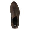 Hnědá pánská kožená Chelsea obuv bata, hnědá, 826-4713 - 17