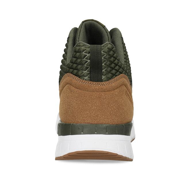 Pánské kotníkové khaki tenisky north-star, zelená, 841-7601 - 15