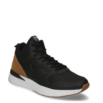 Černé pánské kotníkové tenisky north-star, černá, 841-6601 - 13