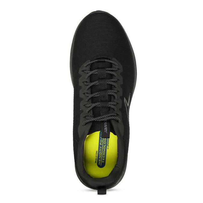 Černé sportovní tenisky pánské power, černá, 809-6800 - 17
