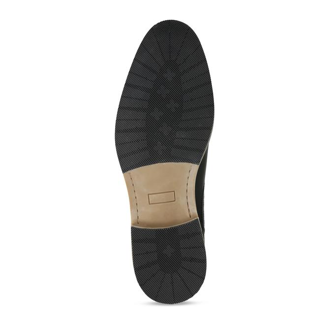 Černá pánská Chelsea obuv kožená bata, černá, 826-6712 - 18
