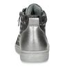 Stříbrné dívčí kotníkové tenisky mini-b, šedá, 221-2603 - 15