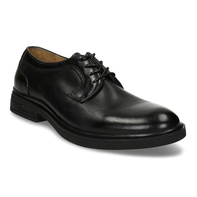 Černá pánská chelsea obuv v kůži bata, černá, 824-6716 - 13