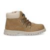 Světle hnědá chlapecká kotníková obuv mini-b, hnědá, 211-4612 - 19