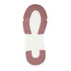 Šedo-růžové dívčí kotníkové tenisky mini-b, šedá, 221-2613 - 18