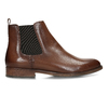 Dámská kožená obuv v Chelsea stylu bata, hnědá, 594-4615 - 19