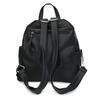 Dámský koženkový batoh v černé barvě gabor, černá, 961-6880 - 16