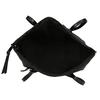 Dámská černá kabelka s úzkými uchy gabor, černá, 961-6887 - 15