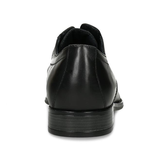 Pánské polobotky derby v černé barvě bata, černá, 824-6701 - 15