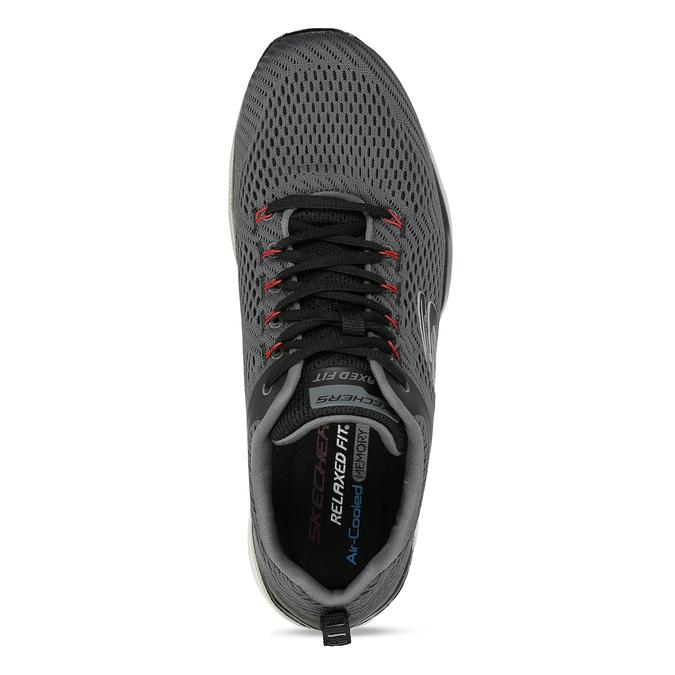 Šedé pánské sportovní tenisky skechers, šedá, 809-2226 - 17