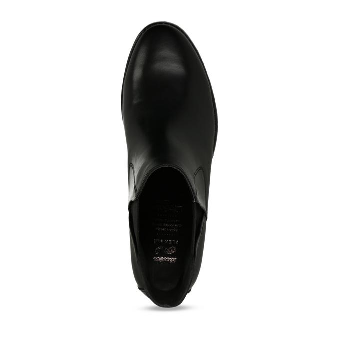 Dámská kožená obuv v Chelsea stylu flexible, černá, 594-6723 - 17