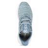 Modré dámské tenisky s pleteným svrškem adidas, modrá, 509-9186 - 17