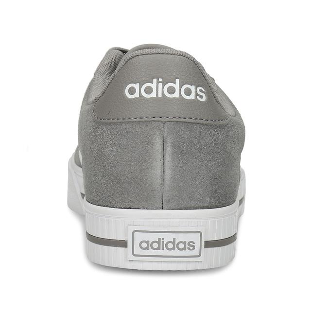 Kožené pánské tenisky v šedobílé variantě adidas, šedá, 803-2372 - 15