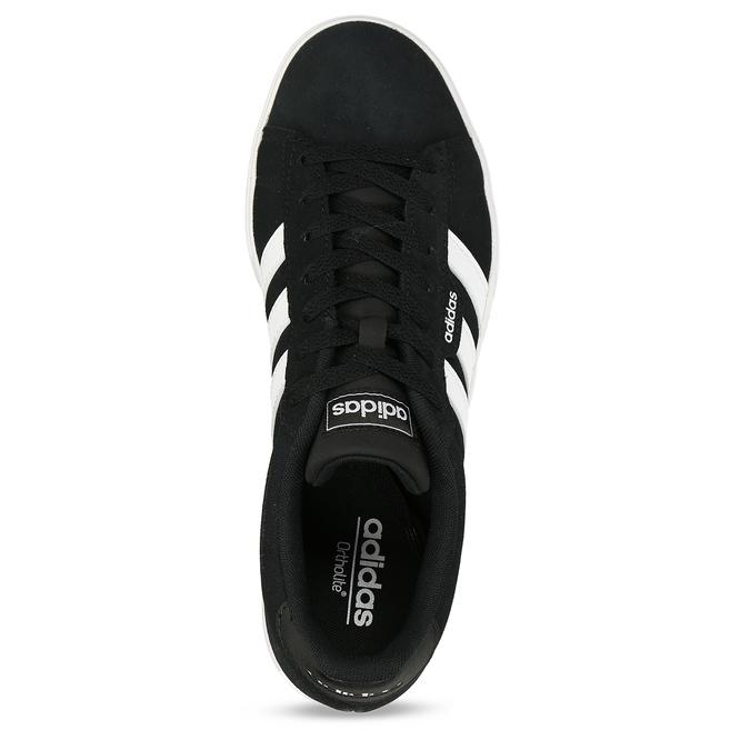 Kožené pánské tenisky adidas, černá, 803-6372 - 17