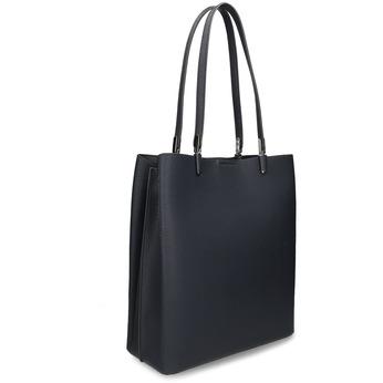 Minimalistická černá kabelka s tenkými uchy bata, modrá, 961-9648 - 13