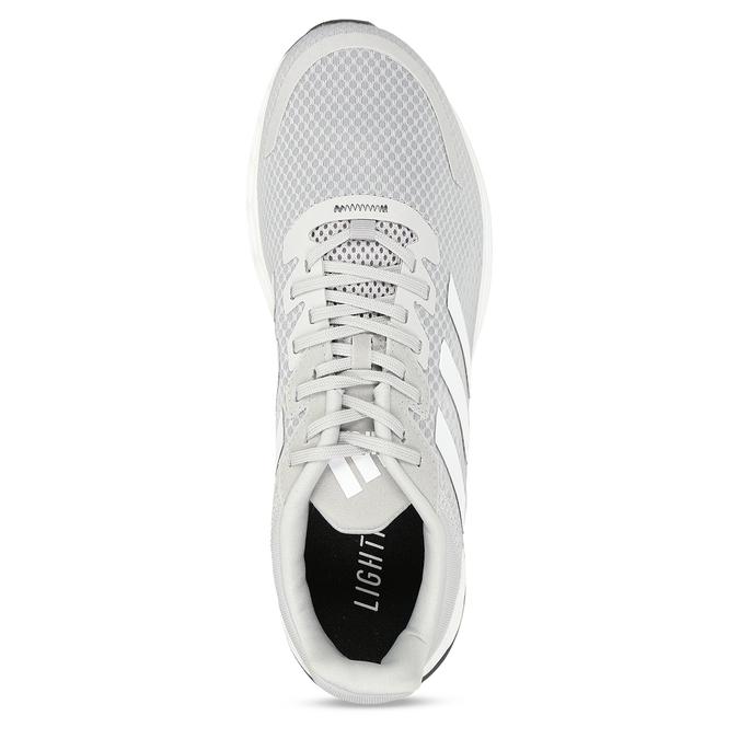 Šedé pánské tenisky adidas, šedá, 809-2164 - 17