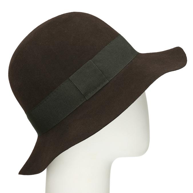 Černý dámský klobouk bata, černá, 909-6697 - 13