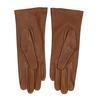 Hnědé dámské kožené rukavice junek, hnědá, 944-3101 - 16