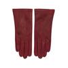 Červen dámské kožené rukavice junek, červená, 944-5101 - 26