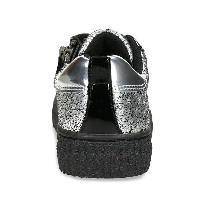 Stříbrné dívčí tenisky s kamínky primigi, stříbrná, 323-1612 - 15