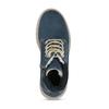 Modrá dětská kožená kotníková obuv zimní weinbrenner, modrá, 416-9614 - 17