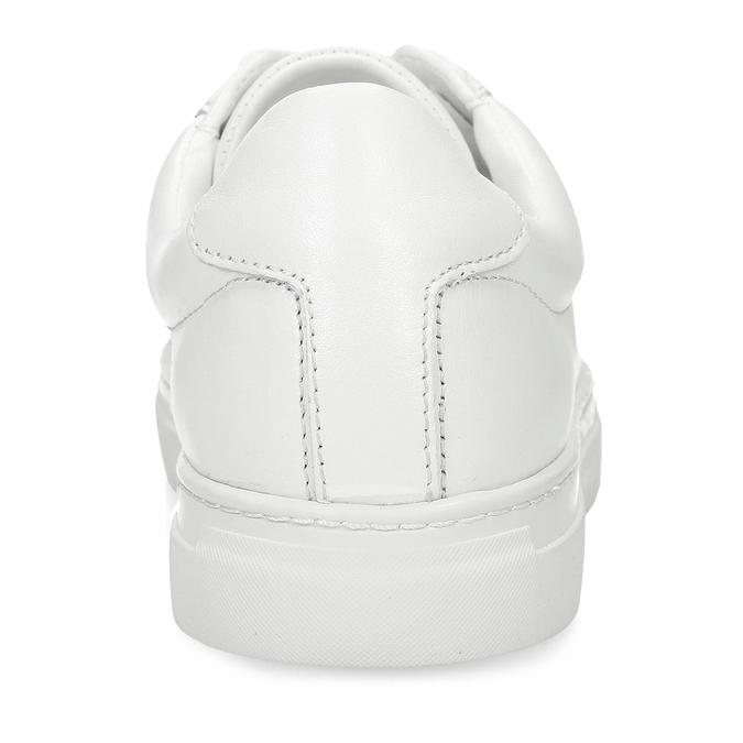 Bílé pánské kožené tenisky vagabond, bílá, 844-1602 - 15
