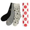Sady tří dámských vánočních ponožek bata, zlatá, 919-0917 - 13
