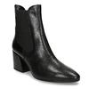 Dámská Chelsea obuv v černé kůži vagabond, černá, 794-6627 - 13