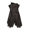 Tmavě hnědé dámské kožené rukavice junek, hnědá, 944-4257 - 13