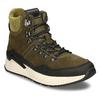 Zelená pánská kožená kotníková obuv na zimu bata, zelená, 893-7620 - 13