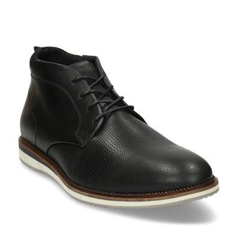 Černá neformální pánská kotníková obuv bata, černá, 826-6626 - 13